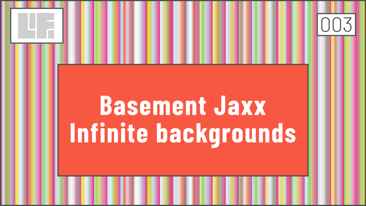 Basement Jaxx album cover with CSS and Prime Numbers