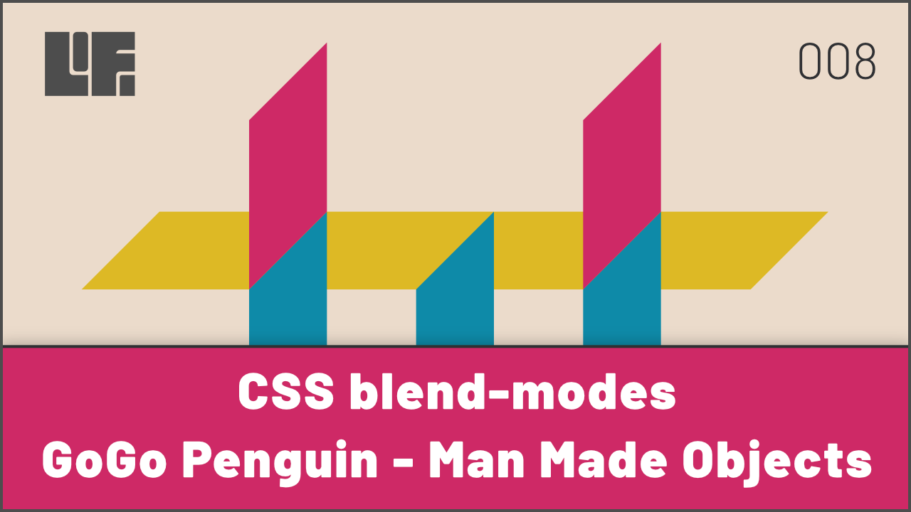 CSS mix-blend-mode and GoGo Penguin