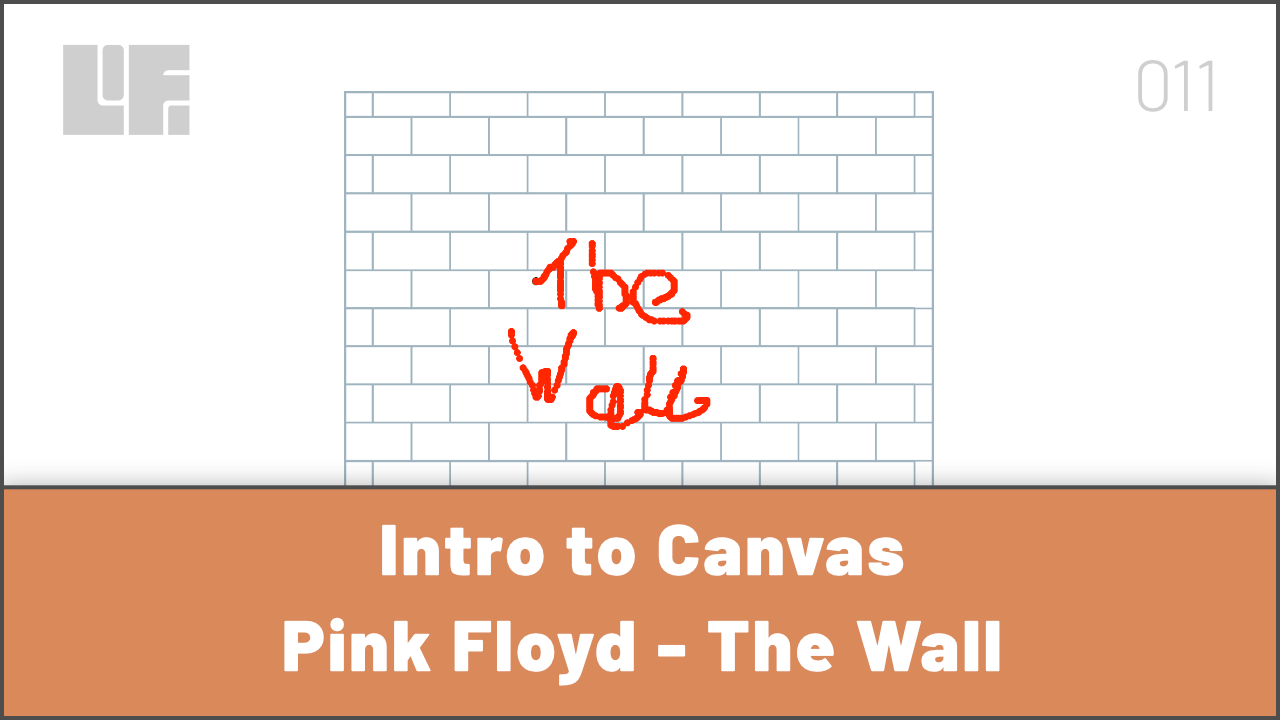 Intro to Canvas with Pink Floyd