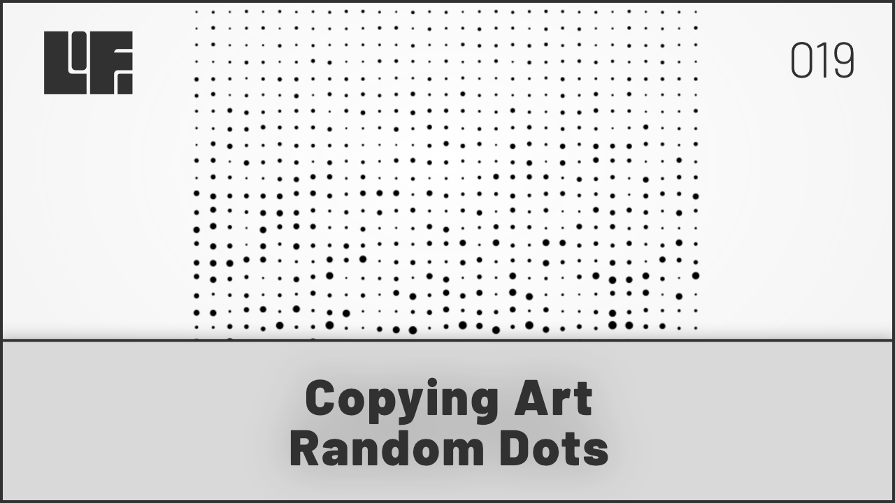 Copying Art - Random Dots