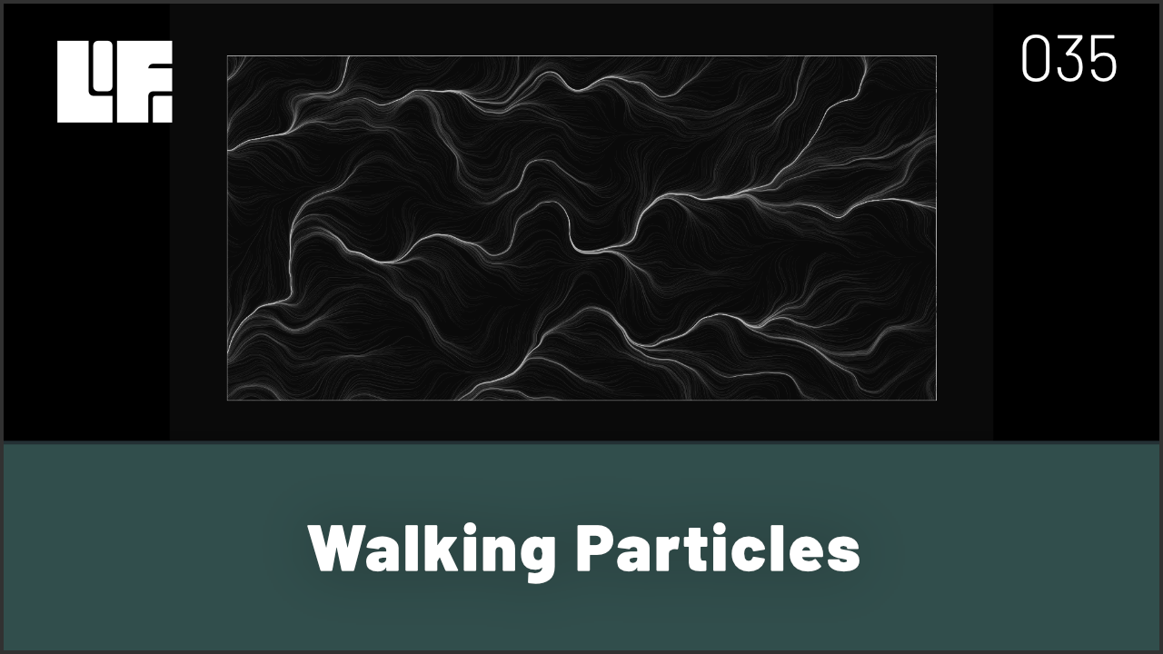 Walking Particles