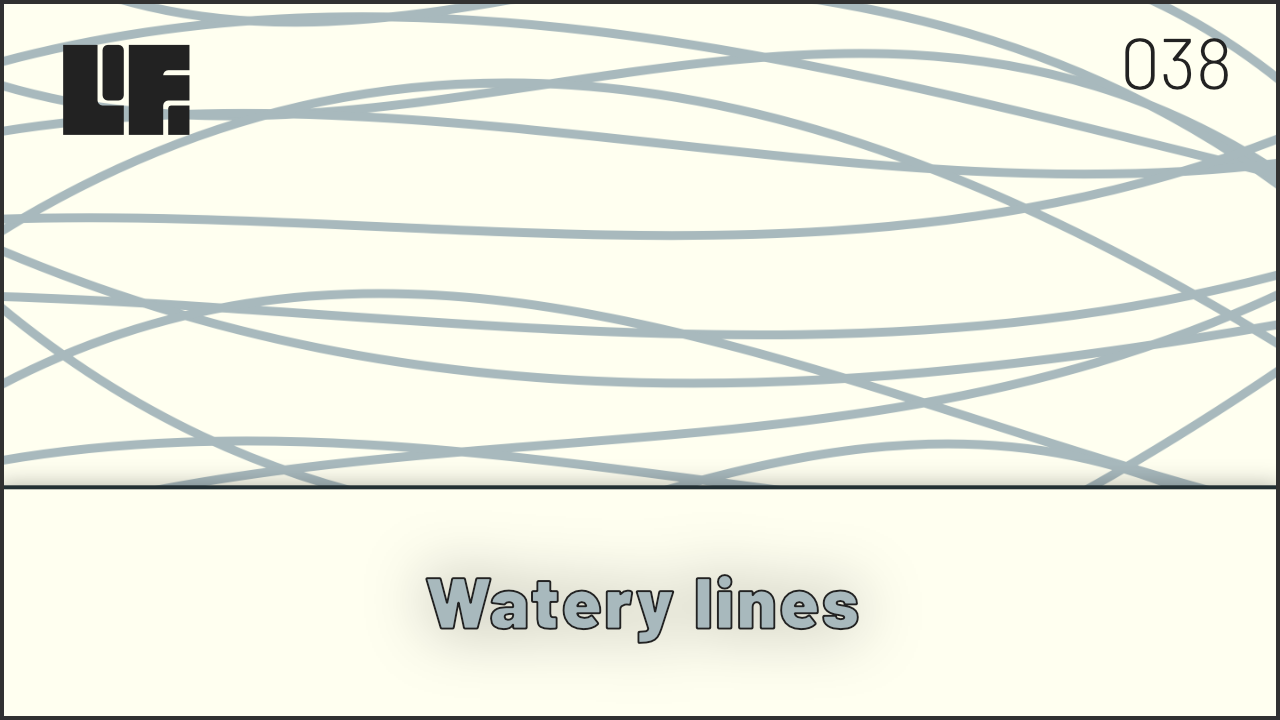 Watery Lines